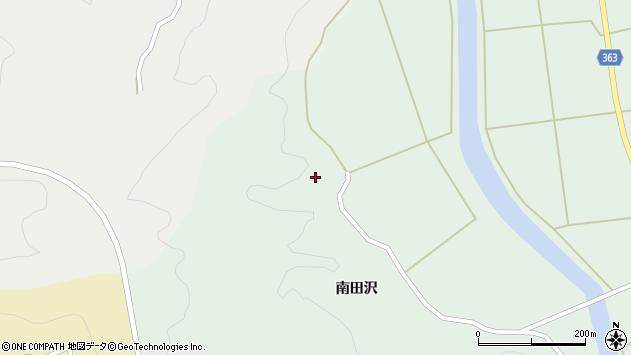 山形県酒田市田沢南田沢101周辺の地図