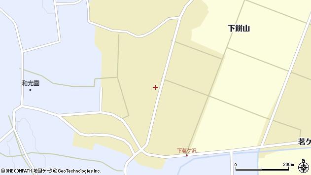 山形県酒田市茗ケ沢前畑92周辺の地図