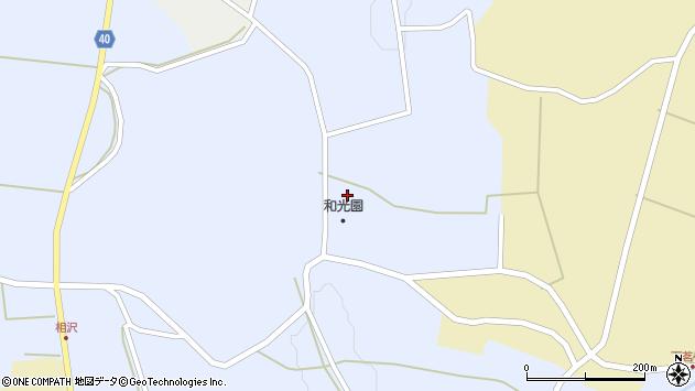 山形県酒田市相沢北森周辺の地図