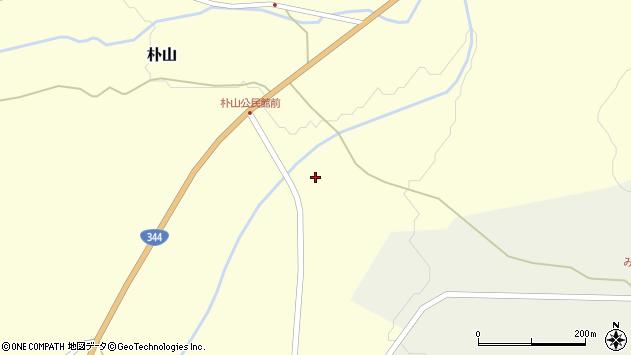 山形県最上郡金山町朴山18周辺の地図