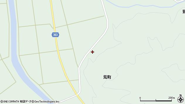 山形県酒田市田沢菅沼2周辺の地図