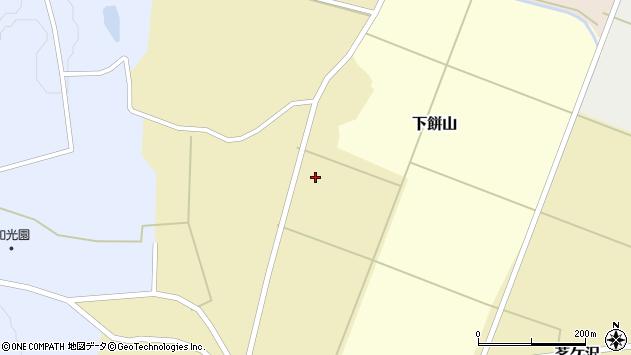 山形県酒田市茗ケ沢前畑60周辺の地図