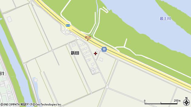 山形県酒田市落野目広野173周辺の地図