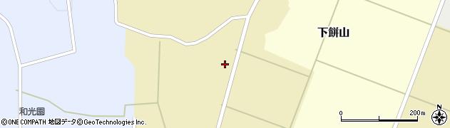 山形県酒田市下餅山村下22周辺の地図