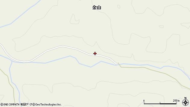 山形県最上郡金山町金山1572周辺の地図