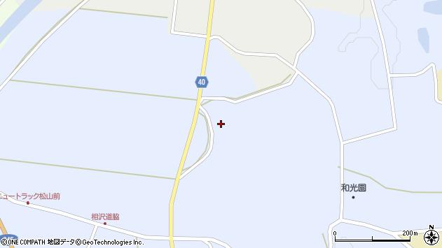 山形県酒田市相沢新田19周辺の地図