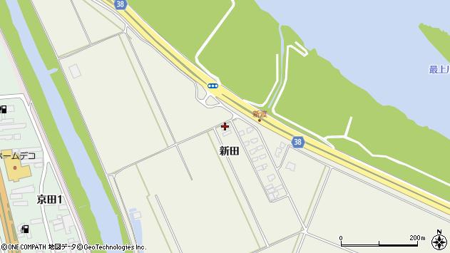 山形県酒田市落野目新田278周辺の地図