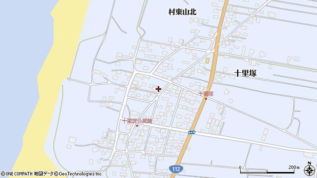 山形県酒田市十里塚村東山北1周辺の地図
