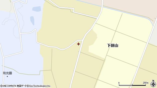 山形県酒田市下餅山村下17周辺の地図