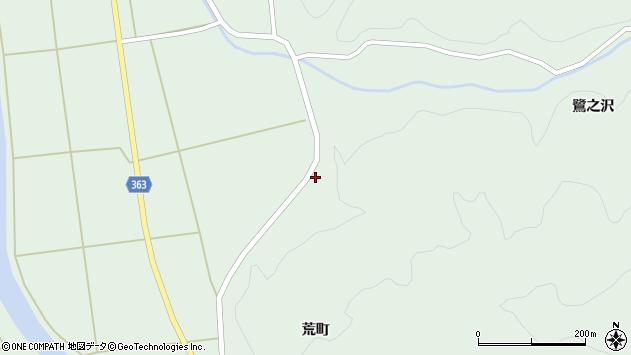 山形県酒田市田沢菅沼13周辺の地図
