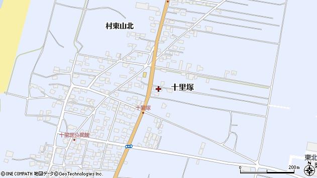 山形県酒田市十里塚村東山北16周辺の地図
