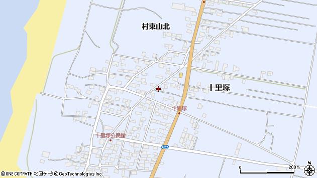 山形県酒田市十里塚村東山北13周辺の地図