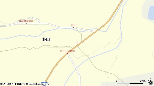 山形県最上郡金山町朴山429周辺の地図
