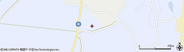 山形県酒田市相沢宮下周辺の地図