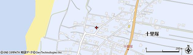 山形県酒田市十里塚丙周辺の地図
