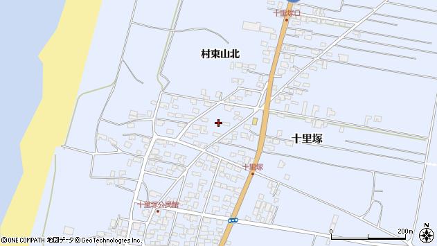 山形県酒田市十里塚村東山北20周辺の地図