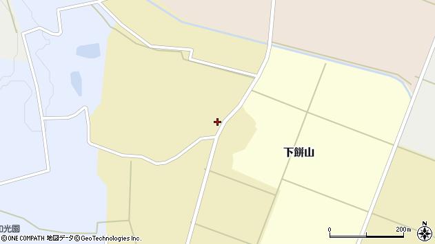 山形県酒田市下餅山村下9周辺の地図