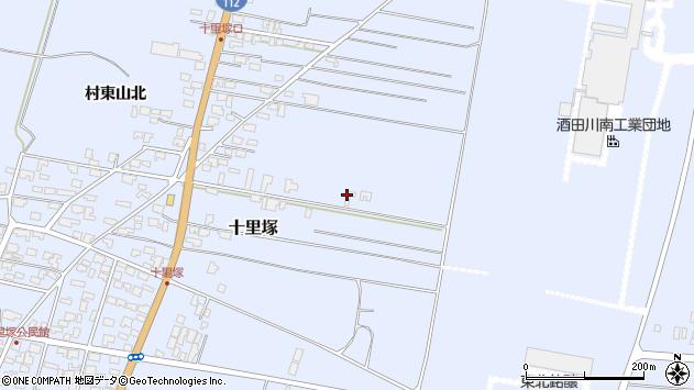 山形県酒田市十里塚村東山北32周辺の地図