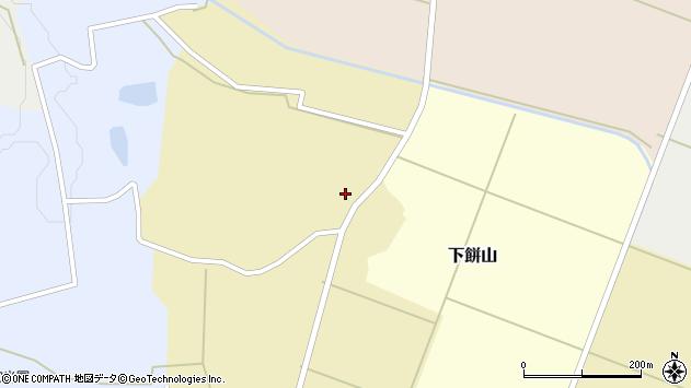 山形県酒田市下餅山村下8周辺の地図