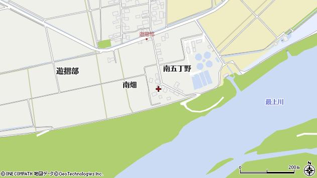 山形県酒田市遊摺部南五丁野429周辺の地図