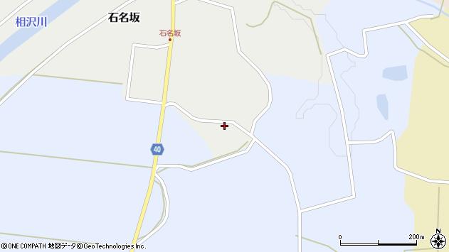 山形県酒田市石名坂金坂1周辺の地図