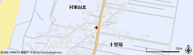 山形県酒田市十里塚村東山北34周辺の地図