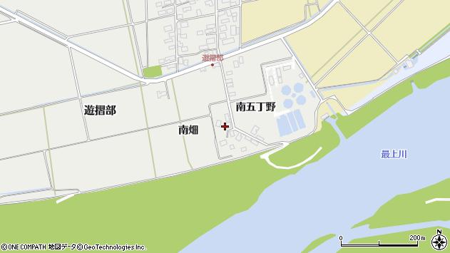 山形県酒田市遊摺部南畑150周辺の地図
