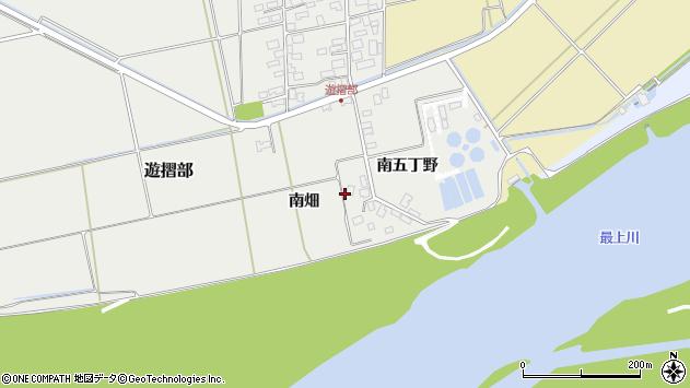 山形県酒田市遊摺部南畑22周辺の地図