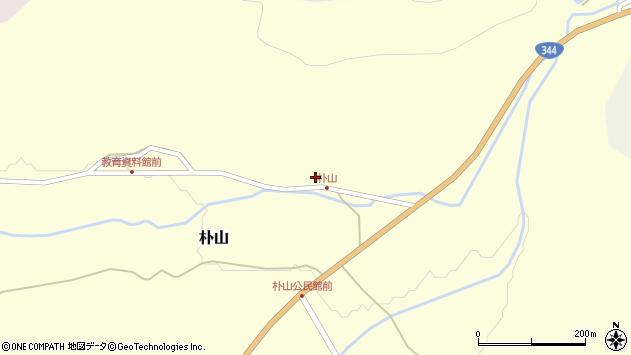 山形県最上郡金山町朴山449周辺の地図