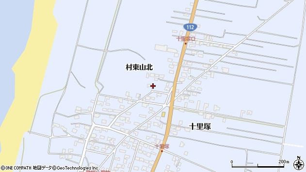 山形県酒田市十里塚村東山北24周辺の地図