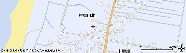 山形県酒田市十里塚村東山北42周辺の地図