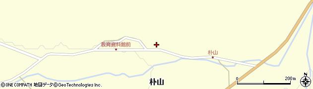 山形県最上郡金山町朴山457周辺の地図