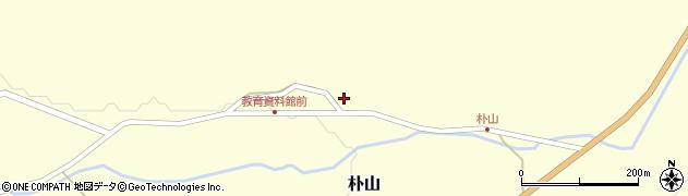 山形県最上郡金山町朴山458周辺の地図
