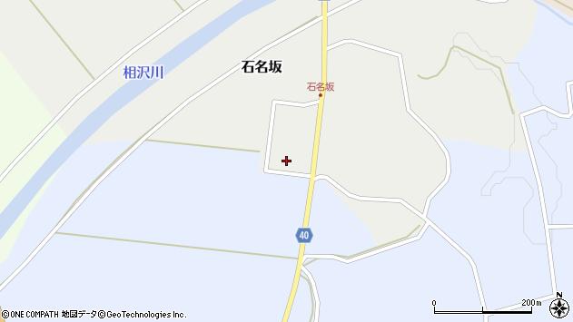 山形県酒田市石名坂宮野下周辺の地図