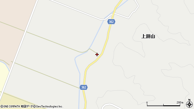 山形県酒田市上餅山元山30周辺の地図