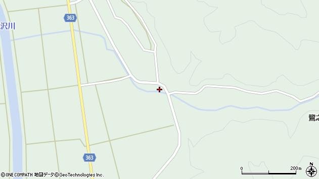山形県酒田市田沢下タ村76周辺の地図