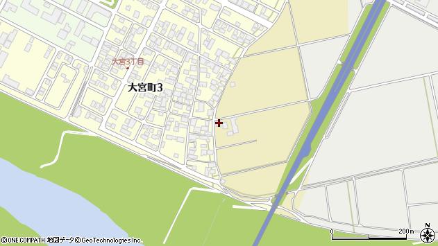 山形県酒田市大宮白鳥73周辺の地図