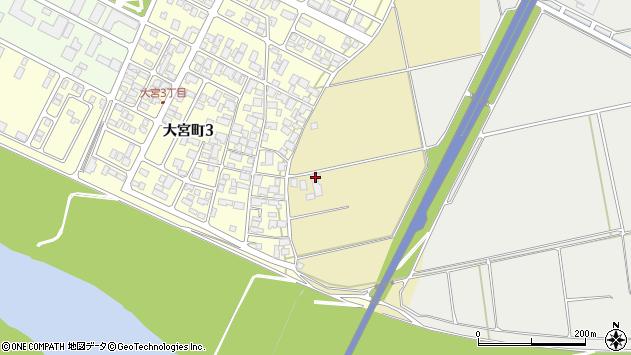 山形県酒田市大宮白鳥49周辺の地図