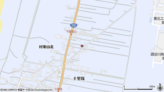山形県酒田市十里塚村東山北63周辺の地図
