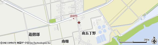 山形県酒田市遊摺部南畑145周辺の地図