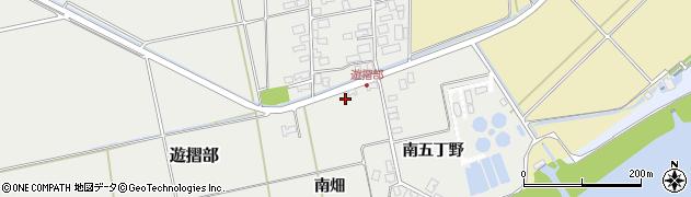 山形県酒田市遊摺部南畑10周辺の地図