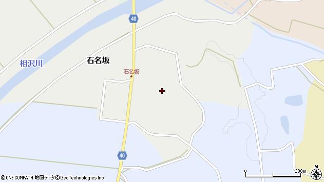 山形県酒田市石名坂金坂43周辺の地図