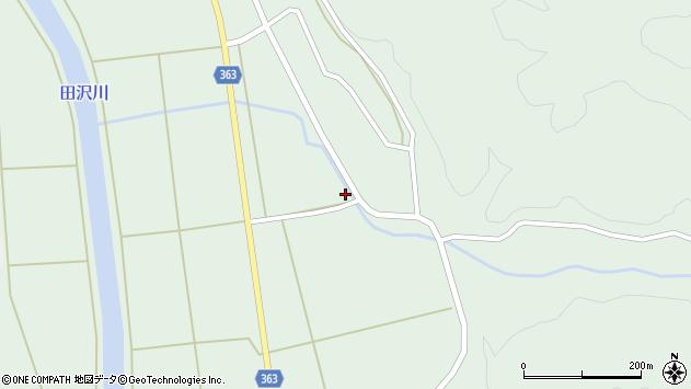 山形県酒田市田沢菅沼52周辺の地図
