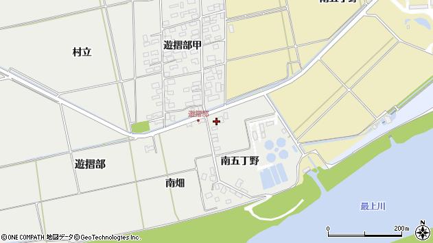 山形県酒田市遊摺部南畑143周辺の地図