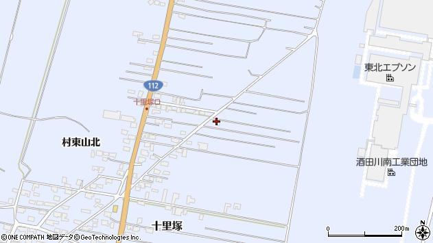 山形県酒田市十里塚村東山北81周辺の地図