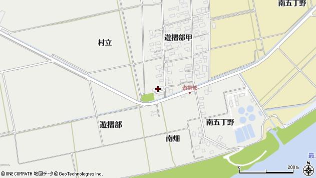 山形県酒田市遊摺部村立81周辺の地図