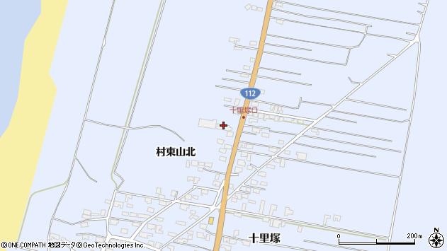 山形県酒田市十里塚村東山北73周辺の地図