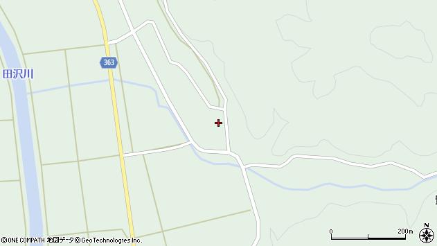 山形県酒田市田沢下タ村57周辺の地図