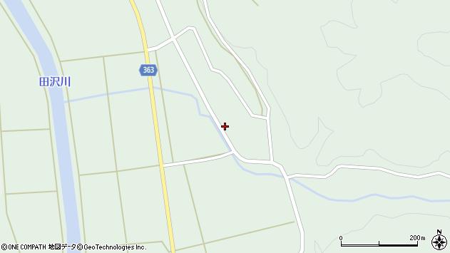 山形県酒田市田沢上田元44周辺の地図