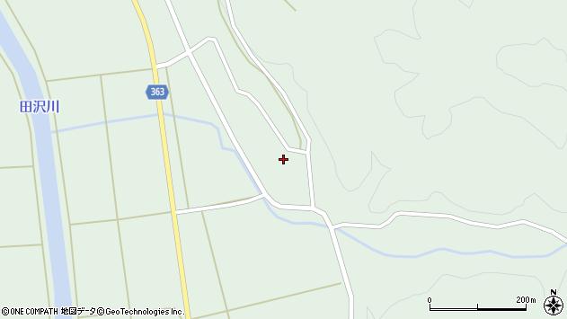 山形県酒田市田沢下タ村88周辺の地図